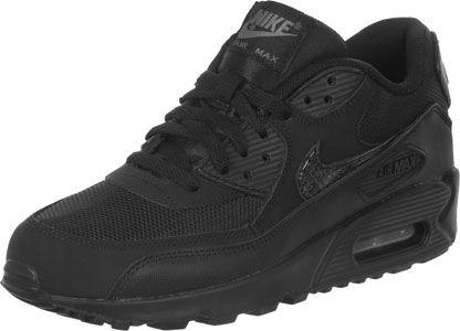 Nike Air Max 90 Mesh GS chaussures noir