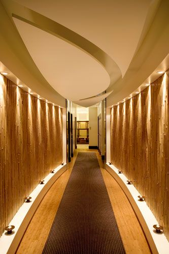 Chuan spa to treatment rooms spa pinterest wall for Spa treatment room interior design