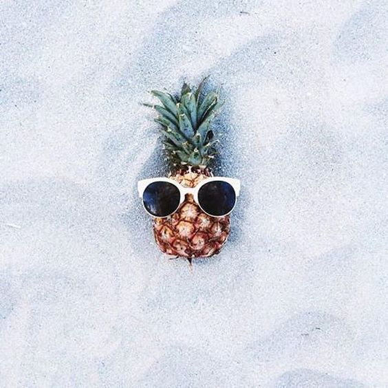 When a pineapple is cooler than you.