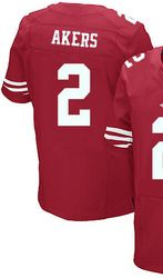 "$78.00--David Akers Jersey - Elite Red Home Nike Stitched San Francisco 49ers #2 Jersey,Free Shipping! Buy it now:click on the picture, than click on ""visit aliexpress.com"" In the new page."