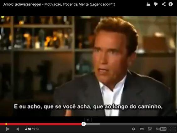 """Arnold Schwarzenegger, um Homem com sucesso em áreas tão diferentes como o """"body building"""", cinema e politica...  http://vidalazy.com/e/blog-6-regras  Qual o segredo? Vê no meu blog!"""