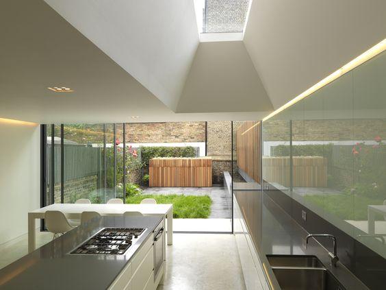 Rear extension sliding doors and minimal on pinterest for Sliding glass doors extension