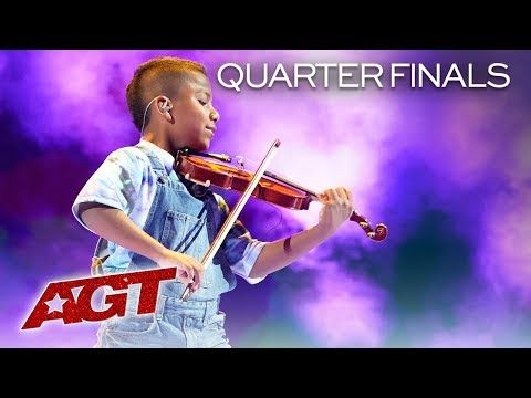 11 Year Old Tyler Butler Figueroa Wows With Don T You Worry Child America S Got Talent 2019 Americans Got Talent America S Got Talent America S Got Talent