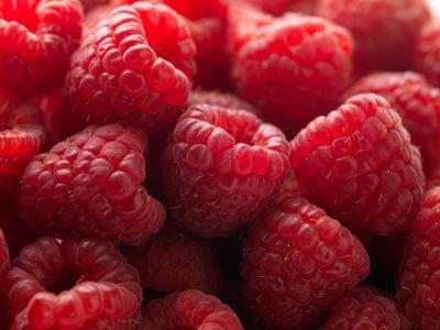 Warm summer raspberries...