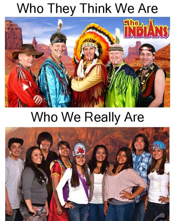 There are SO MANY FALSE stereotypes about my race (American Indian).  If it's not okay to impersonate minorities, American Indians need to be extended the same respect #realamericanindians #realnatives #realnativeamericans #nativepride