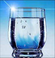A glass of water before breakfast...