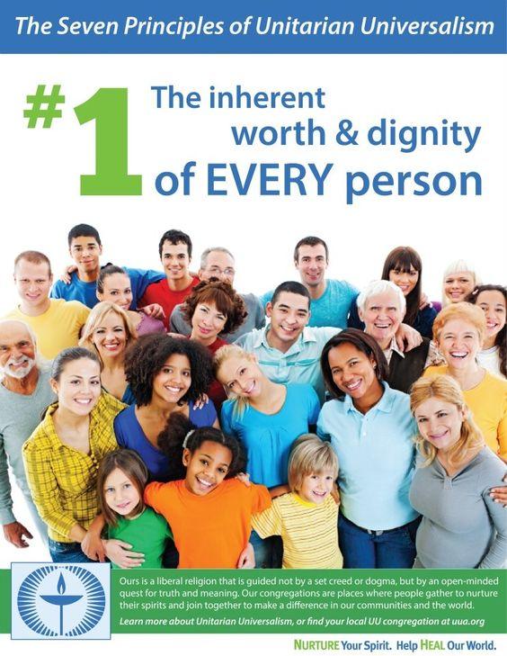 Unitarian Universalism first principle