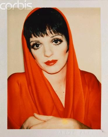 Liza Minelli by Andy Warhol