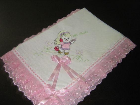 Linda manta que deixará seu bebê protegido confeccionada em 100% algodão .
