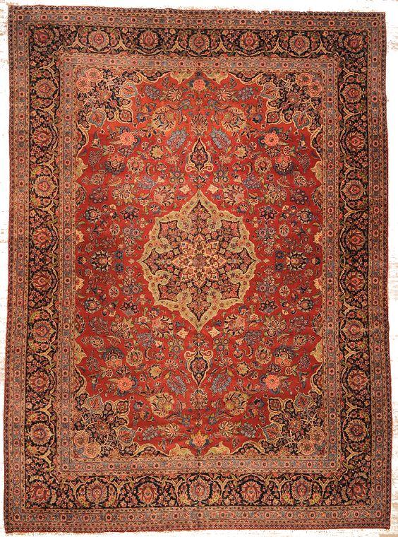 Keschan  Herkunft: Iran  Länge: 547, Breite: 340