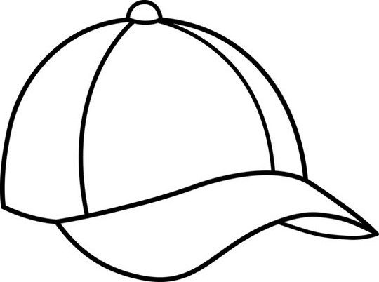 Epic Baseball Cap Hat Coloring Sheet Halaman Mewarnai Buku