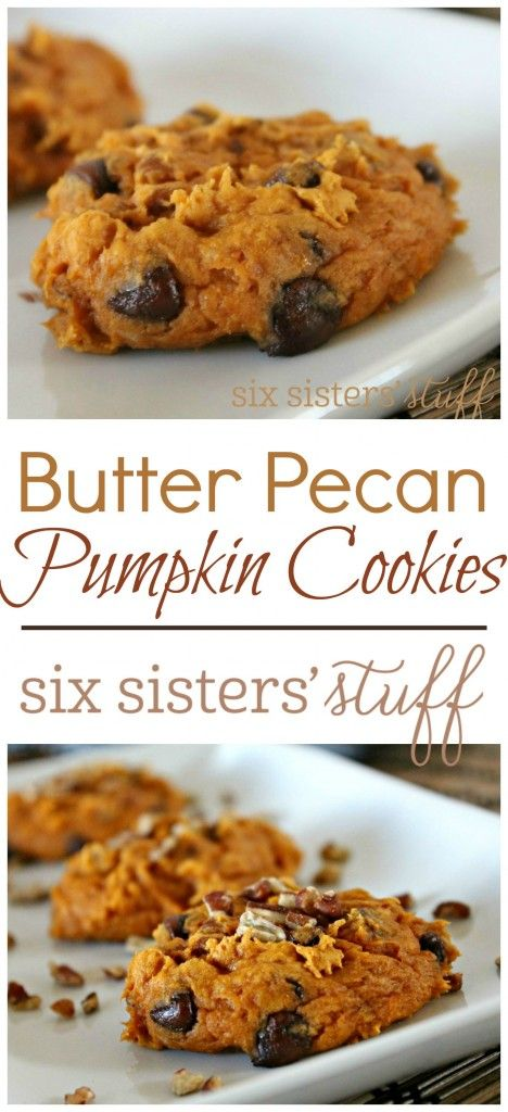 hsh cookies cookies choco and more butter pecan pumpkin cookies pecans ...