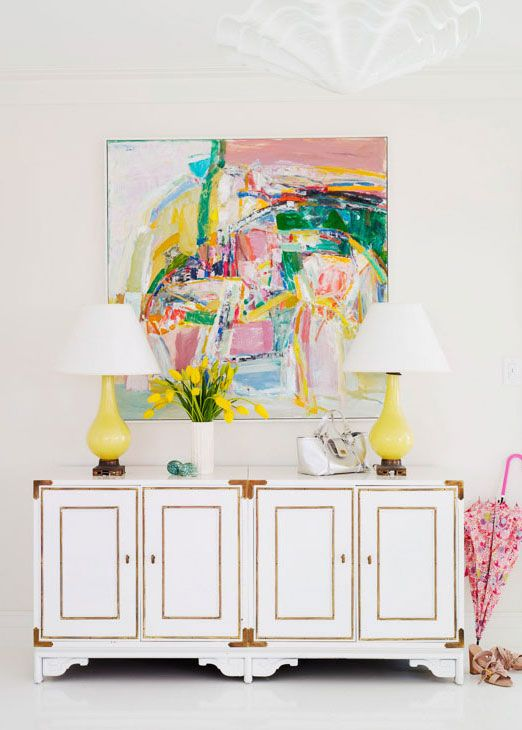 Home decor inspiration for styling white walls from @Stylecaster | Annie Schlechter