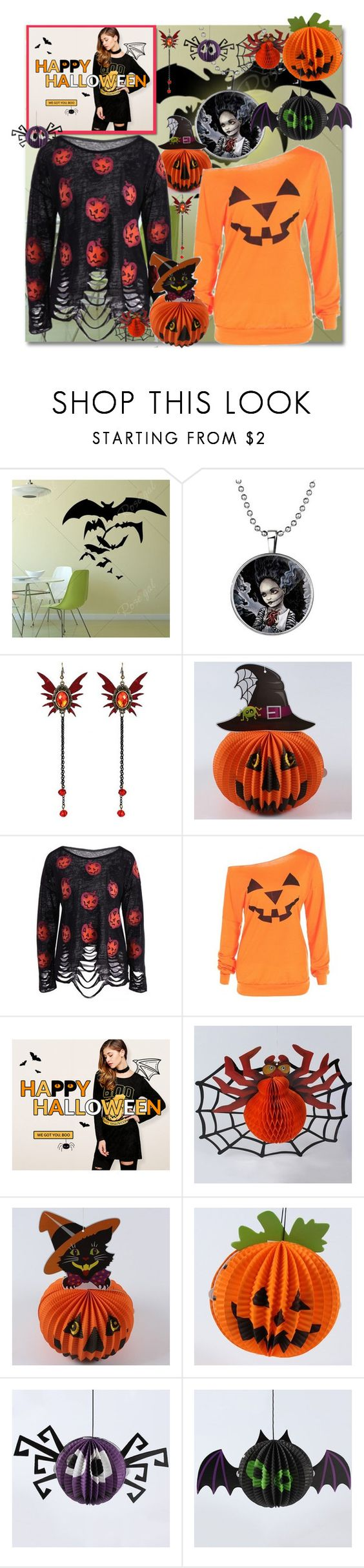 """""""Rosegal Halloween giveaway...."""" by andrea2andare ❤ liked on Polyvore featuring Halloween and giveaway"""
