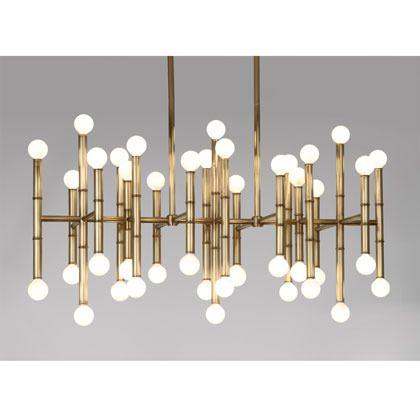 Meurice rectangle chandelier