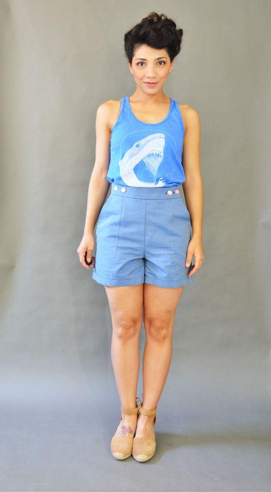 Jacke Holly, die fast eine Capri Jeans geworden wäre
