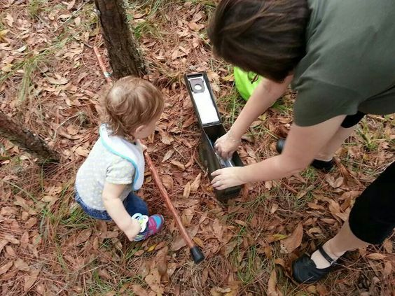 First cache for her.  :)