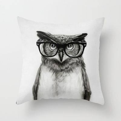 Buy Mr. Owl by Isaiah K. Stephens as a high quality Throw Pillow. Worldwide shipping available at Society6.com. Just one of millions of products available.