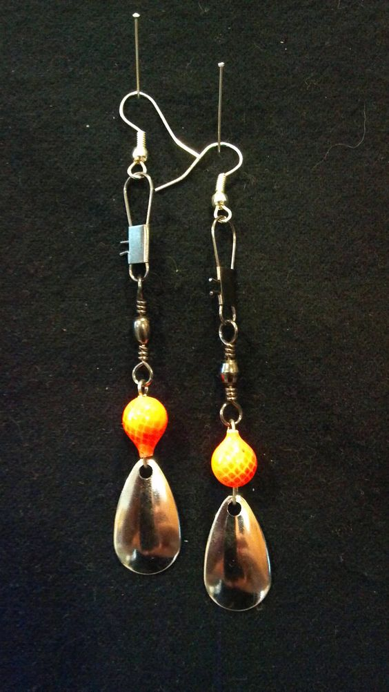 fishing lure earrings fishing lures fishing and earrings on 1964