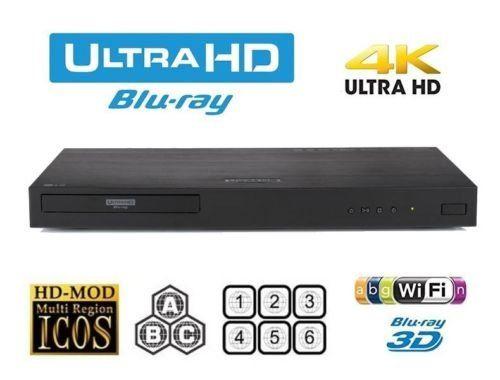 Lg Ubk90 4k Uhd Blu Ray Player Multiregion Blu Ray Dvd Code Free Blu Ray Player For All Zone Playback 340 Blu Ray Player Blu Ray Blu