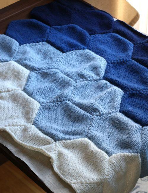 couverture tricot bébé garçon