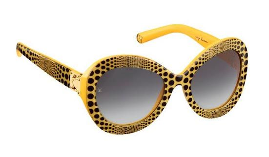 SUNGLASSES from Infinitely Kusama, the collection of ready-to-wear, handbags, shoes and accessories that Japanese artist Yayoi Kusama has designed for Louis Vuitton.
