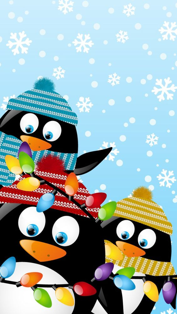 iPhone Wallpaper tjn | iPhone Shelves & Skins | Pinterest ... Cute Christmas Penguin Wallpaper