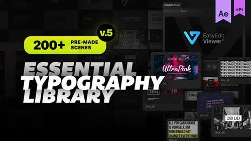 Essential Titles and Lower Thirds V5.2 - Presets & Project for After Effects for Premiere Pro(Videohive)