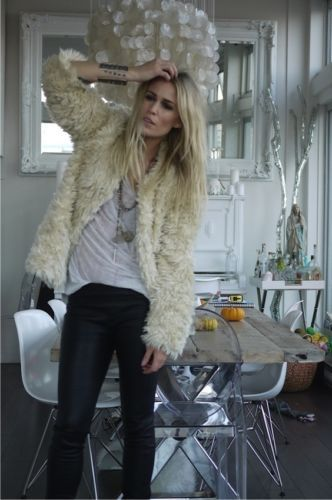 ZADIG-ET-VOLTAIRE-LOUISY-Faux-Fur-Coat-LIKE-NEW-and-sold-out