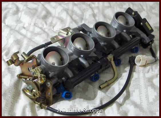 KEIHIN  Motorcycle Fuel Injection Throttle Body 2003 04 Kawasaki Ninja ZX636 Unused  IMG4774 http://ajunkeeshoppe.blogspot.com/