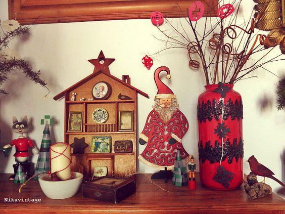 Los Mundos de Nika Vintage: decoracion navideña