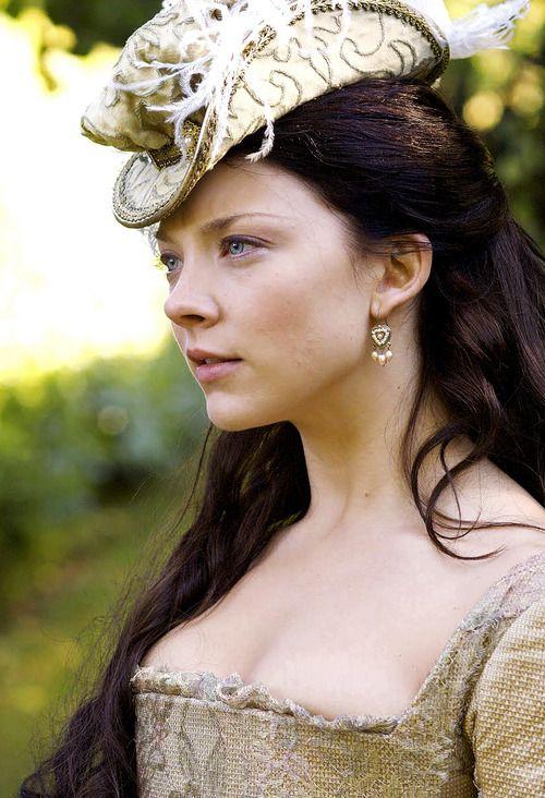 Natalie Dormer as Anne Boleyn in The Tudors (2007-2010).