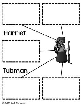 Printables Harriet Tubman Worksheets harriet tubman and the underground railroad tubmanhistory i could use this graphic organizer to help students organize ideas