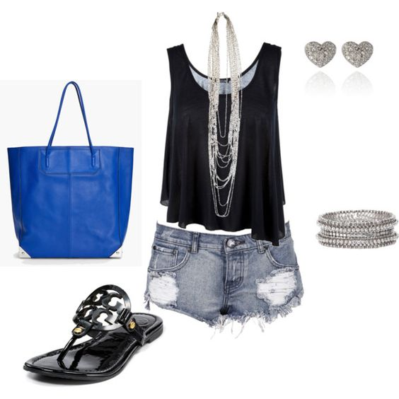 Cute summer outfit..maybe for vegas | Me ) | Pinterest | Comfy shoes Vegas outfits and In love