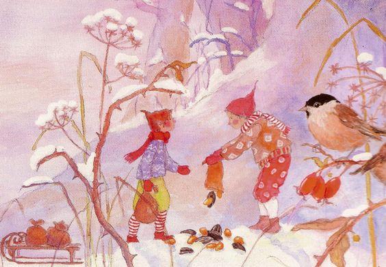 Zwergenreich im Winter
