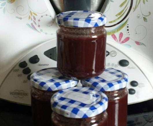 Rezept Kirsch-Schoko-Marmelade Kirschen entkernen im TM von Truppilite2010 - Rezept der Kategorie Saucen/Dips/Brotaufstriche
