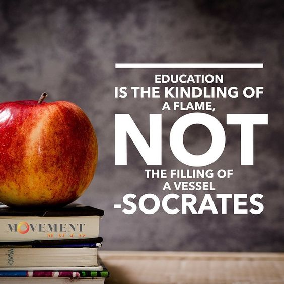 Education today: All filling...No flame. #sad #inspire #lightyourfire