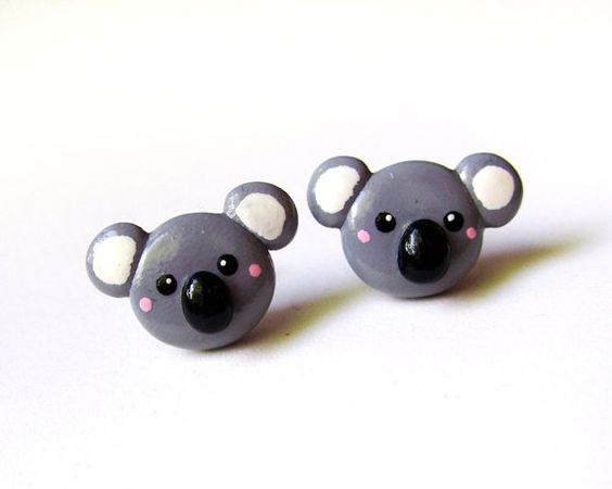 Hey, I found this really awesome Etsy listing at http://www.etsy.com/listing/108323438/cute-polymer-clay-koala-earrings