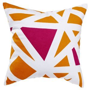 Dial Orange 40cm Cushion