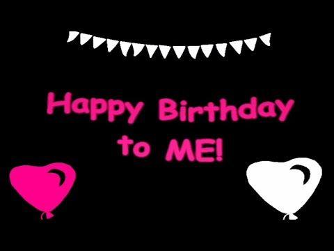 Happy Birthday To Me Whatsapp Status Myself Birthday Wishes Song