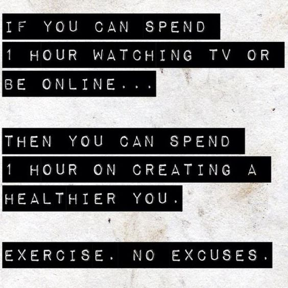 Exercise. No Excuses.