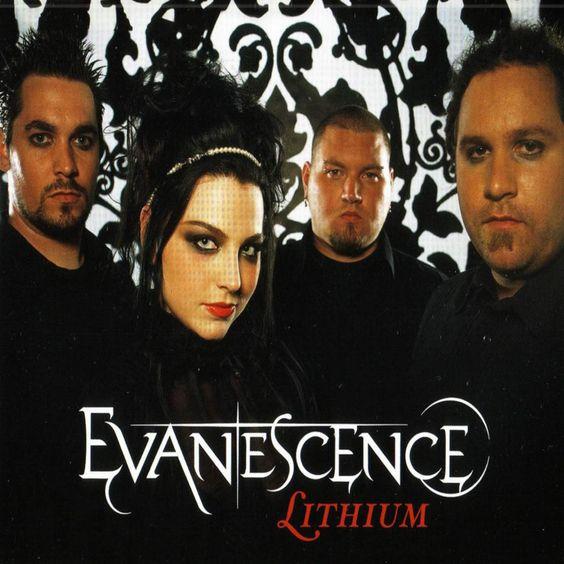 Evanescence – Lithium (single cover art)