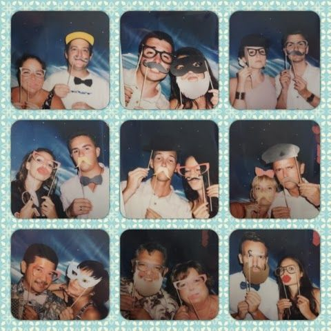 la manina : picture perfect  photobooth and props