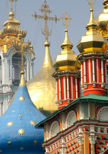 The Trinity Lavra of St. Sergius is the most important Russian monastery and the spiritual centre of the Russian Orthodox Church.