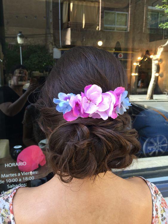 Romantic hairdo