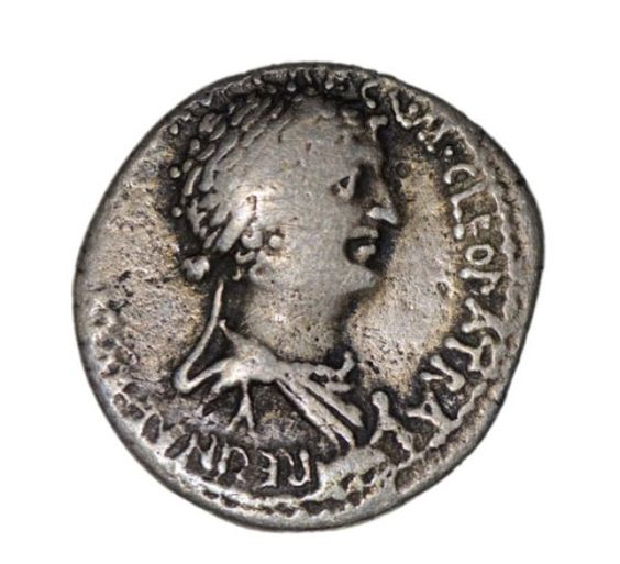 Who Was Cleopatra?   History   Smithsonian..coin found in 1972 of Cleopatra.