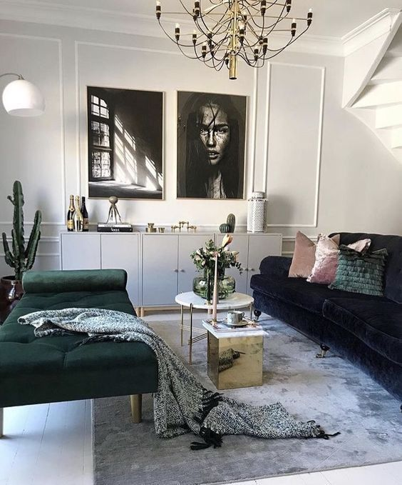 Qi Sofa In 2020 Living Room Decor House Interior Room Interior #two #different #couches #in #living #room