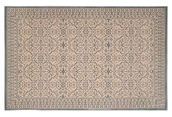 This rug features a timeless design with yarn that is deliberately dyed unevenly to add Old World character and appeal. A rug pad is recommended to keep this securely in place.