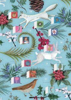 Roger la Borde   Advent Calendar Card by Jane Ray
