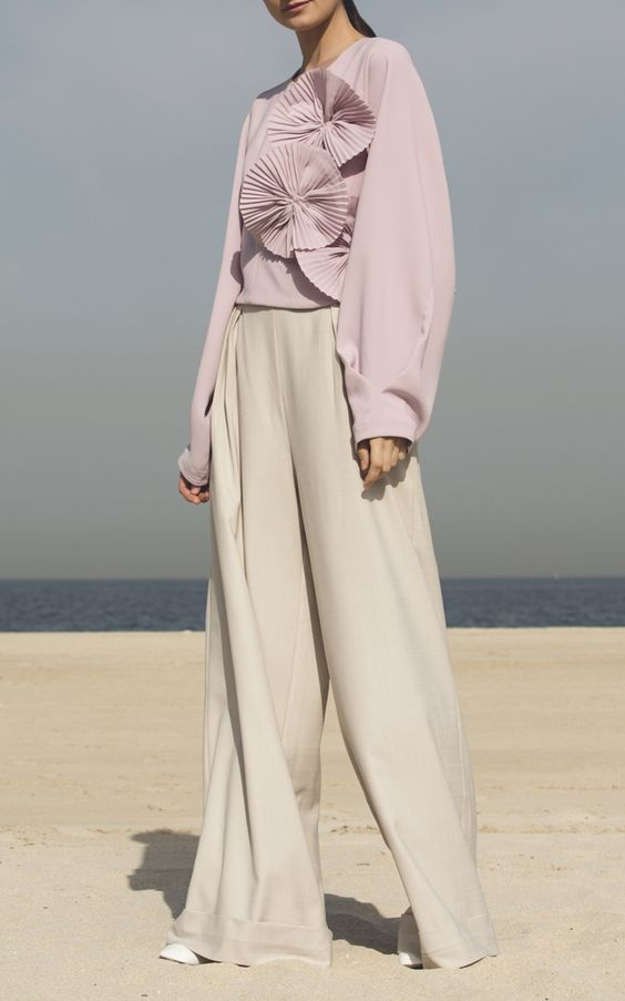 Sinai Structed Blouse by ANATOMI for Preorder on Moda Operandi